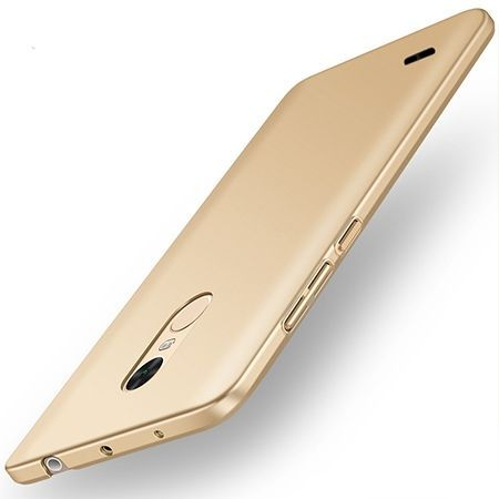 Etui na telefon LG K8 2017 - Slim MattE - Złoty.