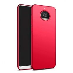 Etui na telefon Motorola Moto G5s - Slim MattE - Czerwony.