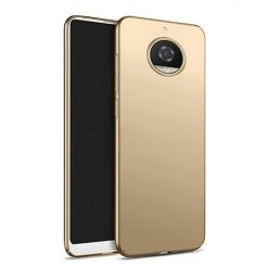 Etui na telefon Motorola Moto G5s - Slim MattE - Złoty.