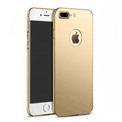 Etui na telefon iPhone 7 Plus  - Slim MattE - Złoty.