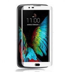 Hartowane szkło na cały ekran 3d LG K8 - Biały.