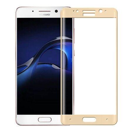 Huawei Mate 9 Pro - hartowane szkło 3D na cały ekran - Złoty.