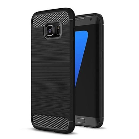 Etui na Galaxy S7 - bumper Neo CARBON - Czarny