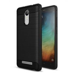 Etui na Xiaomi Redmi Note 3 - bumper Neo CARBON - Czarny.
