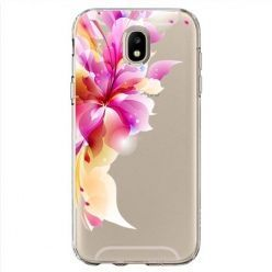 Etui na Samsung Galaxy J7 2017 - bajeczny kwiat.