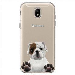 Etui na Samsung Galaxy J7 2017 - słodki szczeniaczek.