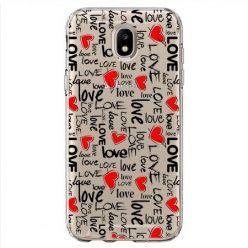 Etui na Samsung Galaxy J7 2017 - love, love, love…
