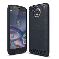 Etui na Motorola Moto G5s - bumper Neo CARBON - Granatowy.