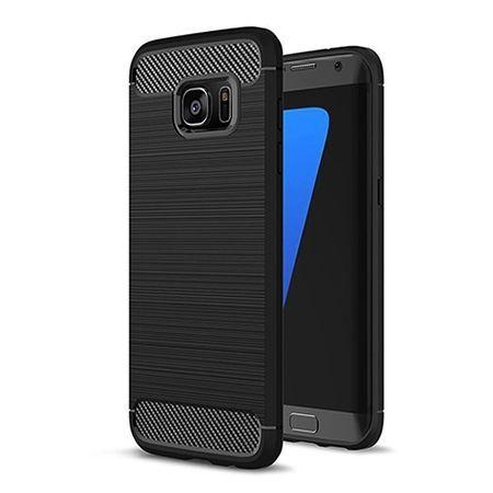 Etui na Galaxy S7 Edge - bumper Neo CARBON - Czarny.