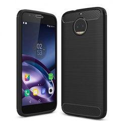 Etui na Motorola Moto G5s Plus - bumper Neo CARBON - Czarny.