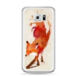 Etui na Galaxy S6 Edge Plus - lis watercolor - Promocja !!!