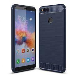 Etui na Huawei Honor 7X - bumper Neo CARBON - Granatowy.