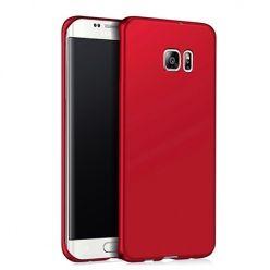 Etui na telefon Samsung Galaxy S6  Edge - Slim MattE - Czerwony.