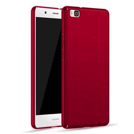 Etui na telefon Huawei P8 - Slim MattE - Czerwony.