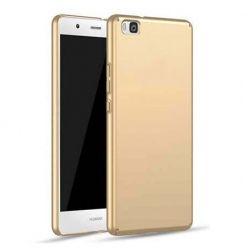 Etui na telefon Huawei P8 - Slim MattE - Złoty.