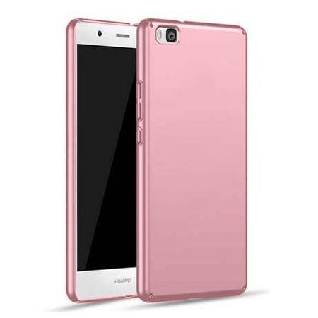 Etui na telefon Huawei P8 - Slim MattE - Różowy.