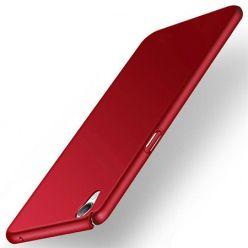 Etui na telefon Sony Xperia XA - Slim MattE - Czerwony.