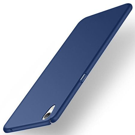 Etui na telefon Sony Xperia XA - Slim MattE - Granatowy.