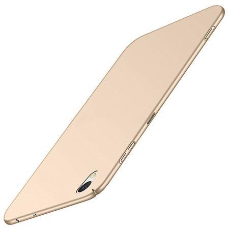 Etui na telefon Sony Xperia XA1 Plus - Slim MattE - Złoty.