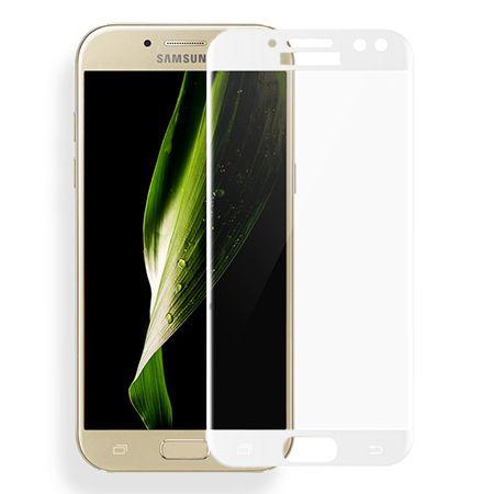 Galaxy J5 2017 - hartowane szkło 3D na cały ekran - Biały.