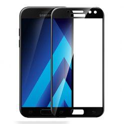 Galaxy J7 2017 - hartowane szkło 3D na cały ekran - Czarny.