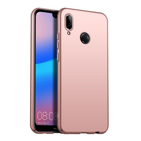 Etui na telefon Huawei P20 Lite - Slim MattE - Różowy.