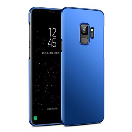 Etui na telefon Samsung Galaxy S9 - Slim MattE - Granatowy.