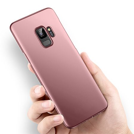 Etui na telefon Samsung Galaxy S9 - Slim MattE - Różowy.