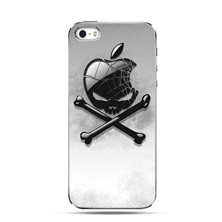 Etui logo Apple czaszka