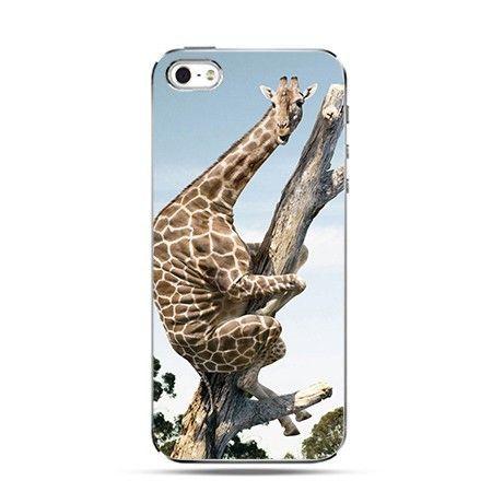 Etui śmieszna żyrafa