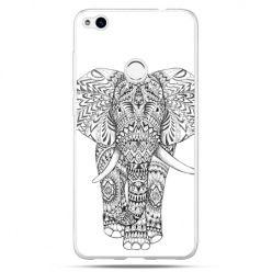 Etui na Huawei P9 Lite 2017 - Indyjski słoń - Promocja !!!