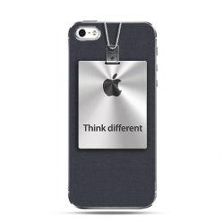 Etui na telefon - Think Different logo Apple .
