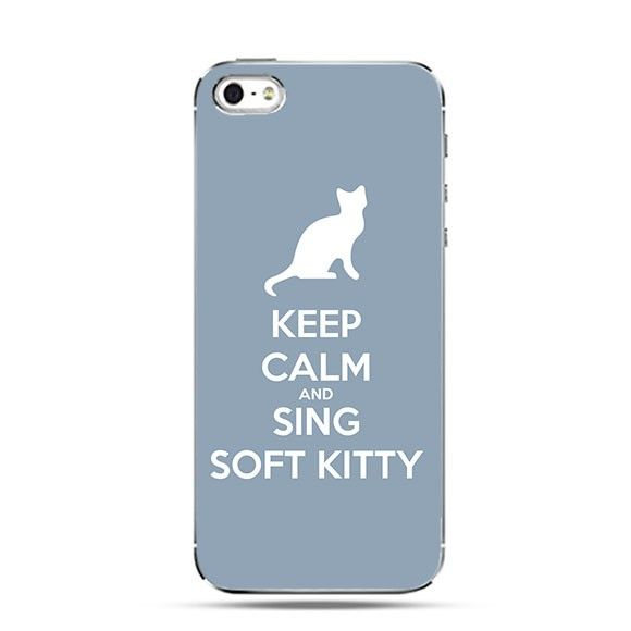 Etui Keep Calm and Sing Soft Kitty