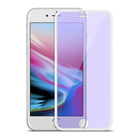 HOCO hartowane szkło na cały ekran  3D Anti-Blue Ray - iPhone 6 / 6s - Biały.