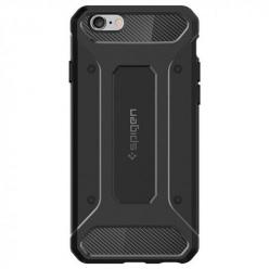 Etui na iPhone 6 / 6s Spigen Rugged Armor - Czarny