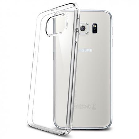Etui na Samsung Galaxy S6 Spigen Liquid Crystal - Przezroczysty