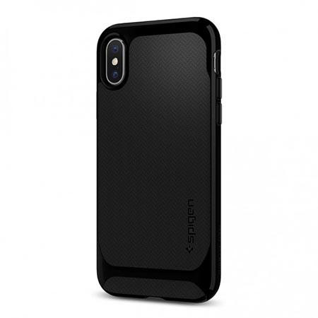 Etui Spigen na iPhone X Neo Hybrid - Czarny
