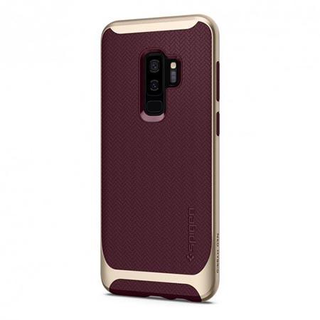 Etui Spigen na Samsung Galaxy S9 Plus Neo Hybrid - Złoty