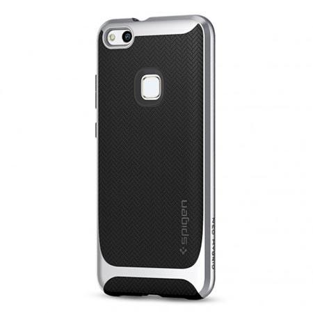 Etui Spigen na Huawei P10 Lite Neo Hybrid - Srebrny