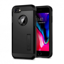 Etui Spigen na iPhone 7 - Tough Armor Czarny