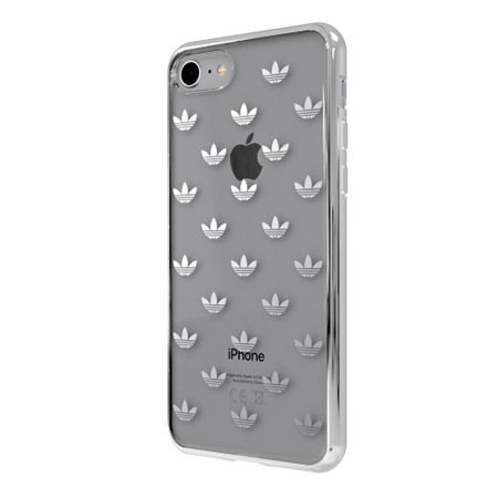 Etui Adidas na iPhone 7 - Clear Case Bezbarwny