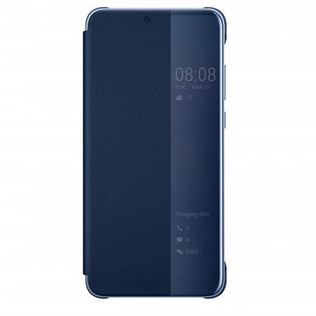 Etui na Huawei P20 Pro View Flip cover - Niebieski