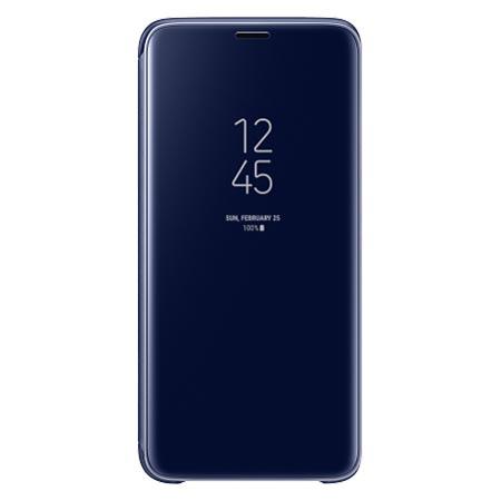 Oryginalne etui na Samsung Galaxy S9 - Clear View Niebieski