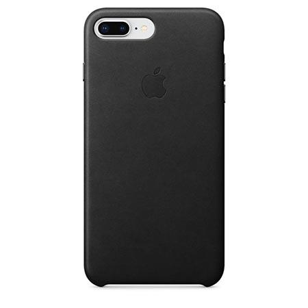 Oryginalne etui Apple na iPhone 7 Plus Leather Case - Skórzane Czarny