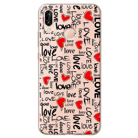Etui na Huawei P20 Lite - Love, love, love…