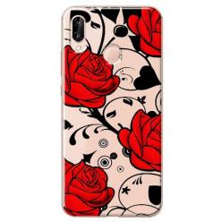Etui na Huawei P20 Lite - Czerwone róże.