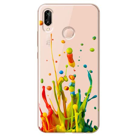 Etui na Huawei P20 Lite - Kolorowy splash.