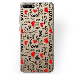 Etui na Huawei Y6 2018 - Love, love, love…
