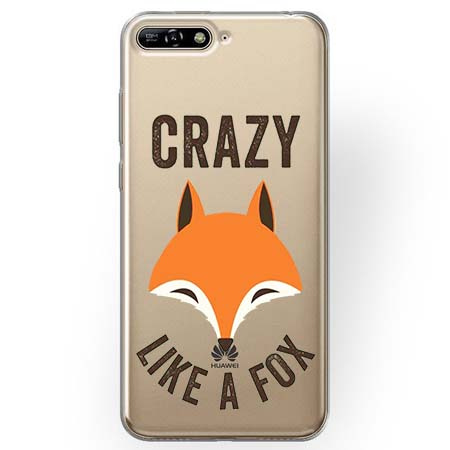 Etui na Huawei Y6 2018 - Crazy like a fox.