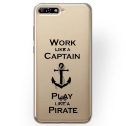 Etui na Huawei Y6 2018 - Work like a Captain…